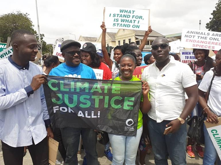 Accra climate strike